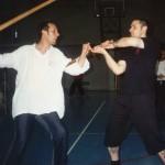 Giocco stretto (walka w bliskim dystansie) z długim mieczem