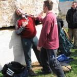 """Przerwa - Colin demonstruje techniki wychodzenia z sytuacji """"przyparty do muru"""""""